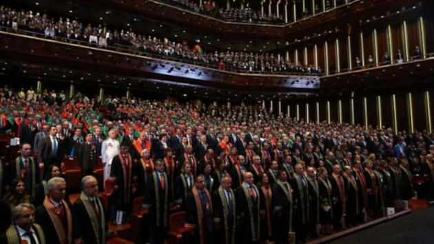 41 baro Adli Yıl Töreni'ne katılmayacağını açıkladı
