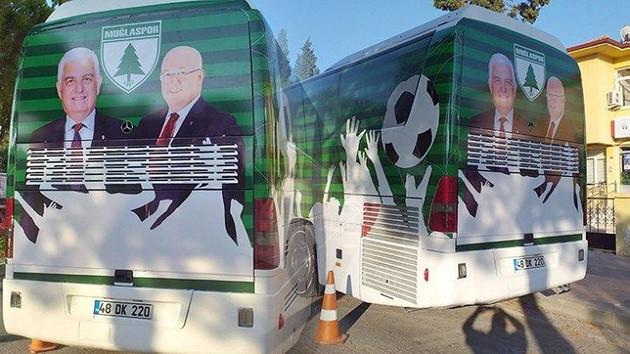 Muğlaspor'da otobüs kaplaması istifa getirdi
