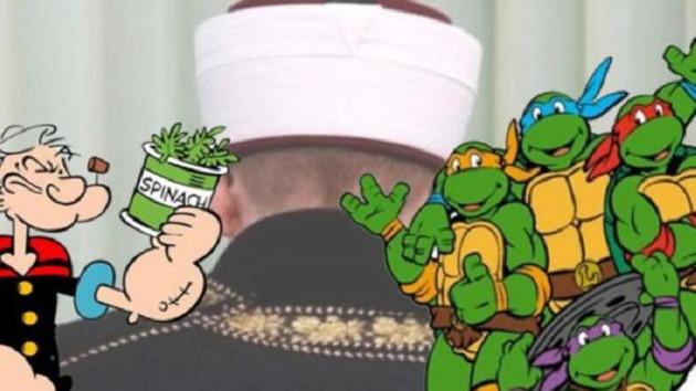 Diyanet, Temel Reis ve Ninja Kaplumbağalar'a savaş açtı