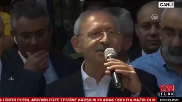 CNN Türk'ün Kılıçdaroğlu canlı yayını 10 saniye sürdü