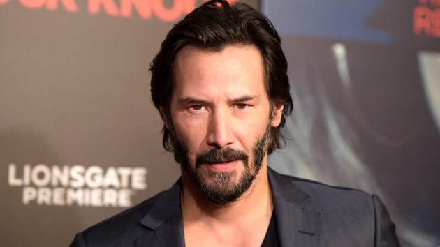 Ünlü oyuncu Keanu Reeves tanınmaz hale geldi
