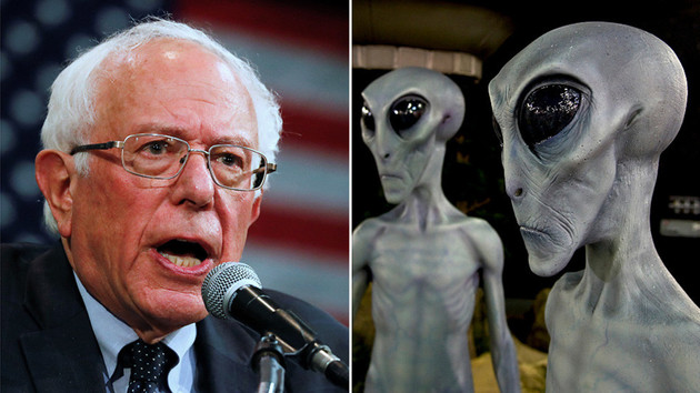 ABD başkan adayı Sander'dan ilginç vaat: Uzaylılara dair sırrı paylaşacağım