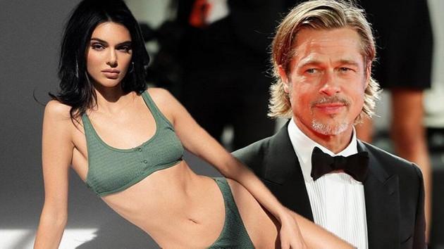 Kendall'dan Brad Pitt itirafı: Görünce kaçıyorum