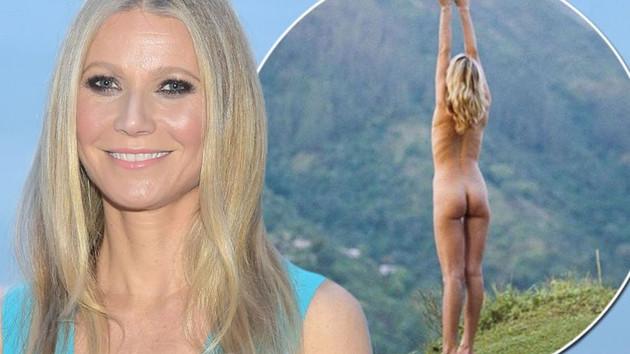Gwyneth Paltrow'un çıplak pozu sosyal medyayı salladı