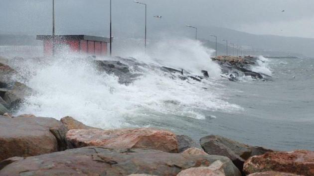 Marmara ve Ege'ye fırtına uyarısı!