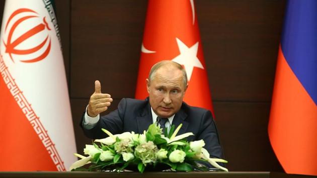 Putin Kuran'dan ayet okuyarak kime mesaj verdi?