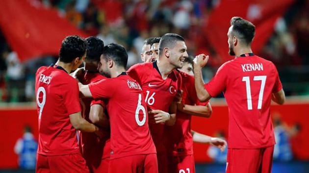 Türkiye-Andorra maçında ilk 11'ler belli oldu