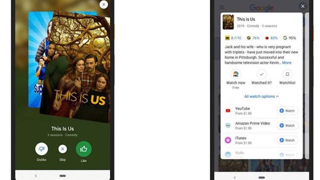 Google, sevilen filmlere göre öneri yapacak bir uygulama geliştirdi
