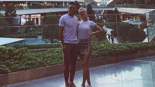 Falcao'nun eşi Lorelei Taron'dan İstanbul paylaşımı