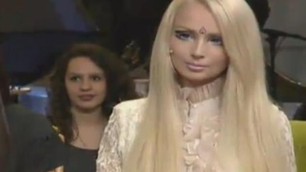 Rus Barbie Valeria Beyaz Show'u salladı!