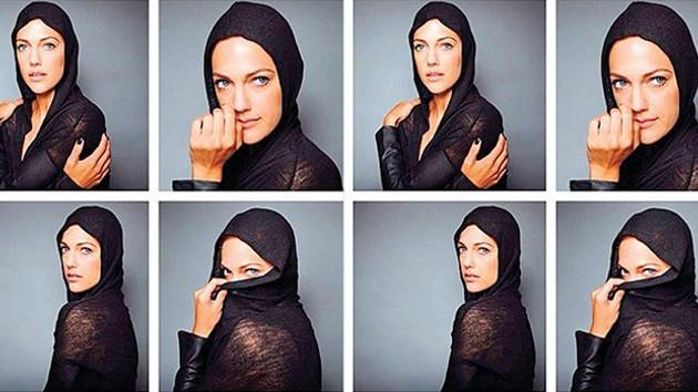 Meryem Uzerli'nin olay yaratan fotoğrafları