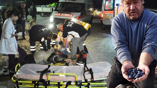 Yırca'da ağaçları kesilen zeytinci  öldü