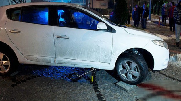 Şişli'de akıl almaz kaza