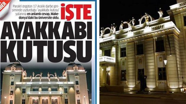 Star, tiyatro binasını bağış yapılan üniversite ilan etti!