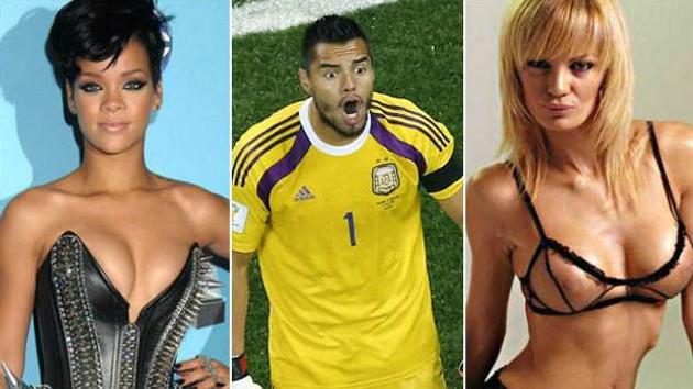 Romero'ya Rihanna ile 1 hafta seks ödülü