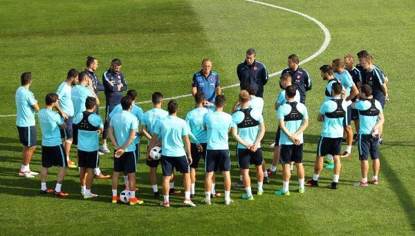 A Milli Takım Hırvatistan maçı hazırlıklarını sürdürdü