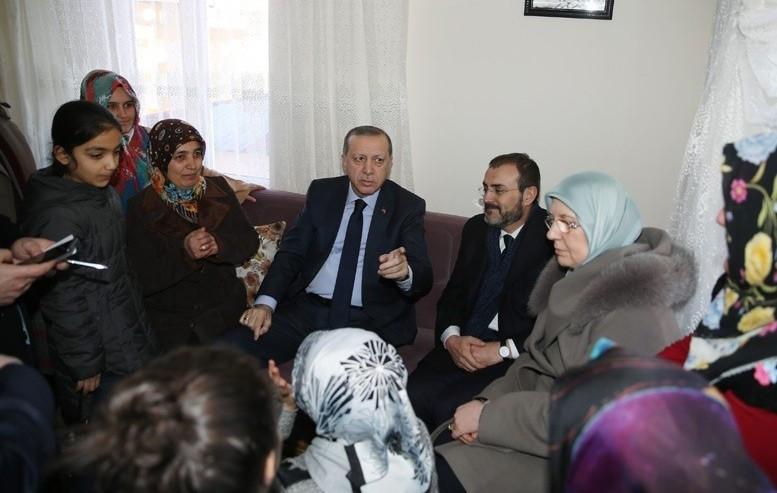 Cumhurbaşkanı Erdoğan'ın sürpriz ziyaretini anlattı