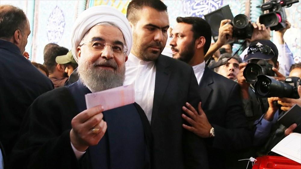 Son dakika haberleri: İran'da seçimi Yüzde 58,5 oyla Hasan Ruhani kazandı