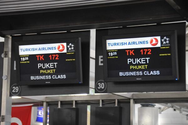 THY'nin 300. uçuş noktası Phuket oldu