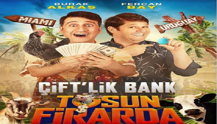 Vizyonda bu hafta: Çift'lik Bank: Tosun Firarda geliyor