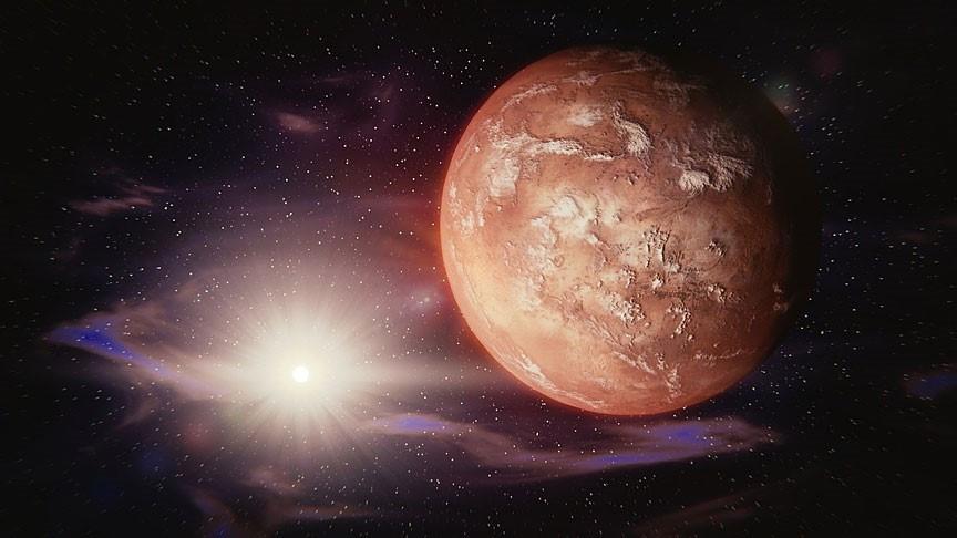 Mars'ın taşan golleri yüzeyde kanyonlar oluşturmuş