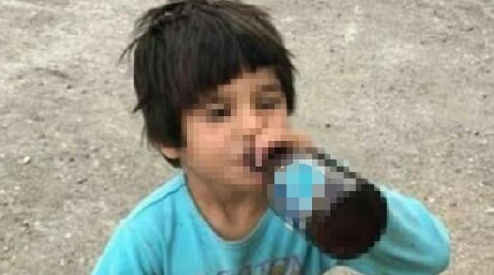 İçki şişesiyle fotoğrafı paylaşılan 6 yaşındaki kız çocuğu koruma altına alındı