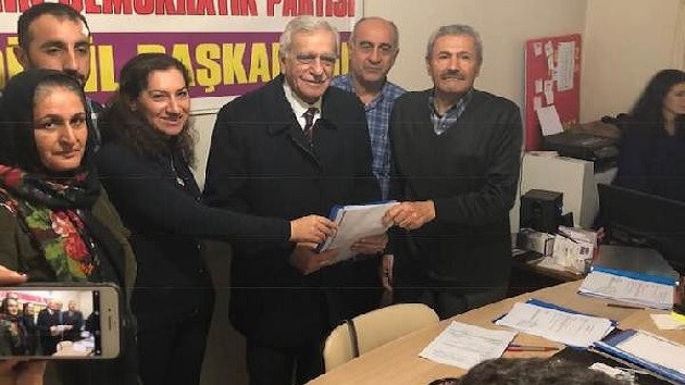 Ahmet Türk, Mardin Büyükşehir için HDP'den aday adayı