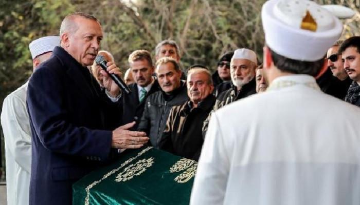 Cumhurbaşkanı Erdoğan, Kadir Turgut'un cenaze namazına katıldı