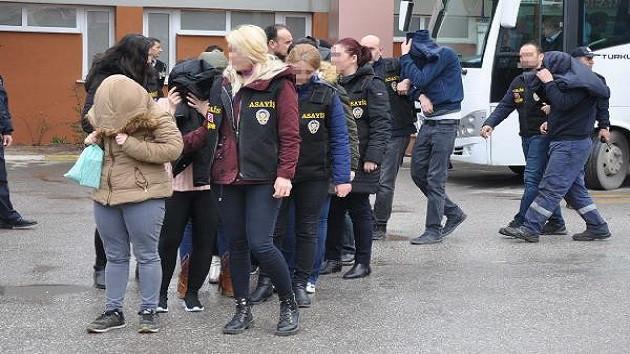 Eskişehir merkezli 8 ilde fuhuş operasyonu: 40 gözaltı