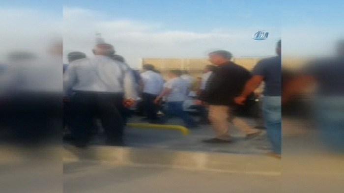 Suruç'ta saldırı anı görüntüleri ortaya çıktı…