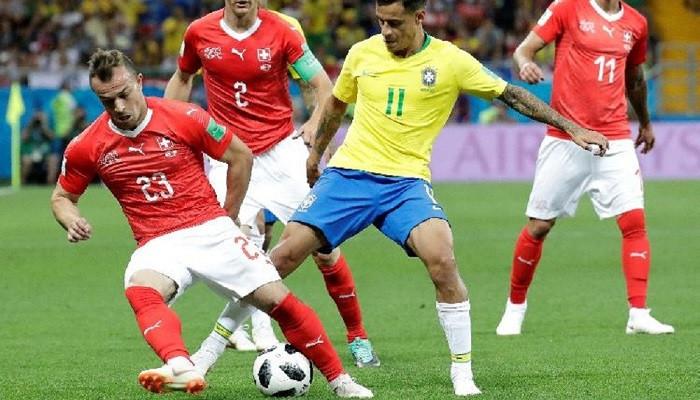 Bir şok da Brezilya'ya! Brezilya 1 - İsviçre 1
