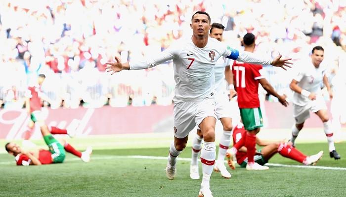 Ronaldo attı, Portekiz kazandı: Portekiz: 1 - Fas: 0