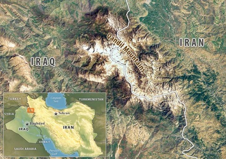 Kandil Dağı Haritası Kandile Kaç Kilometre Kaldı Medyafaresicom