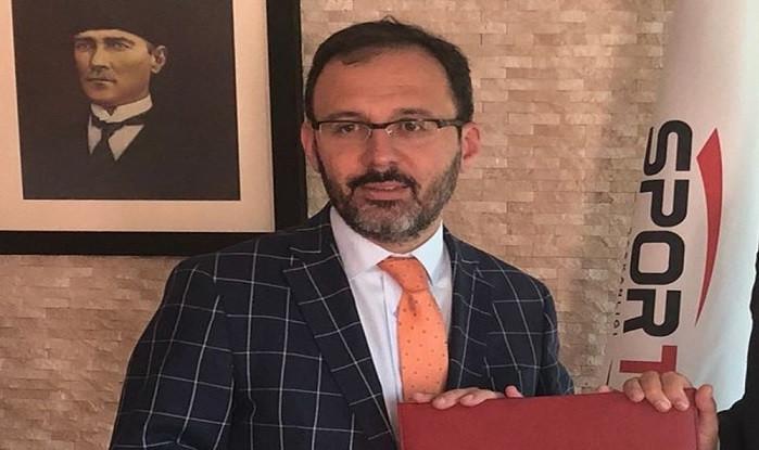 Spor Toto'nun başındaki Mehmet Kasapoğlu Spor Bakanı oldu