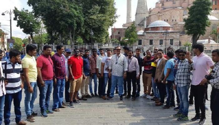 Hint çalışanların İstanbul tatili renkli görüntülerle başladı