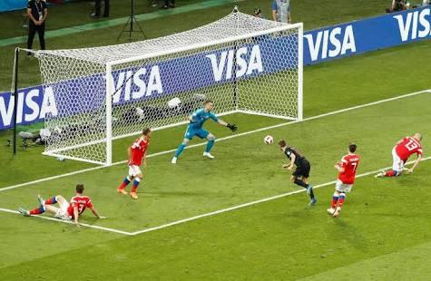 Penaltılarda Rusya çöktü: yarı final bileti Hırvatistan'ın