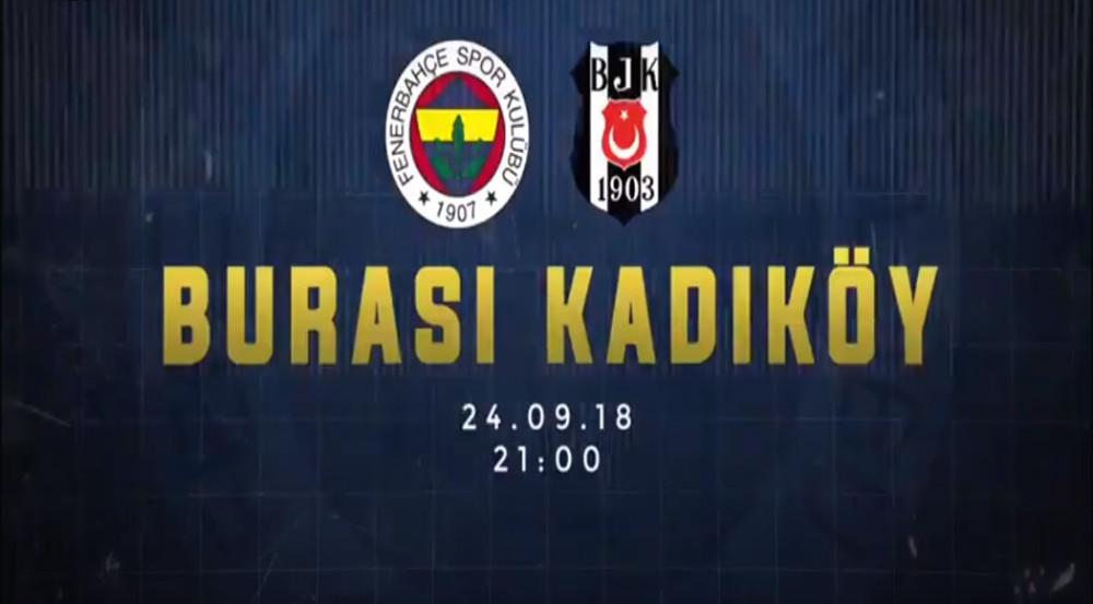 Fenerbahçe'den Beşiktaş'ı kızdıracak derbi paylaşımı