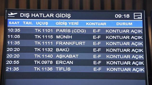 THY, İstanbul Havalimanı'nda uçuş ağını genişletti