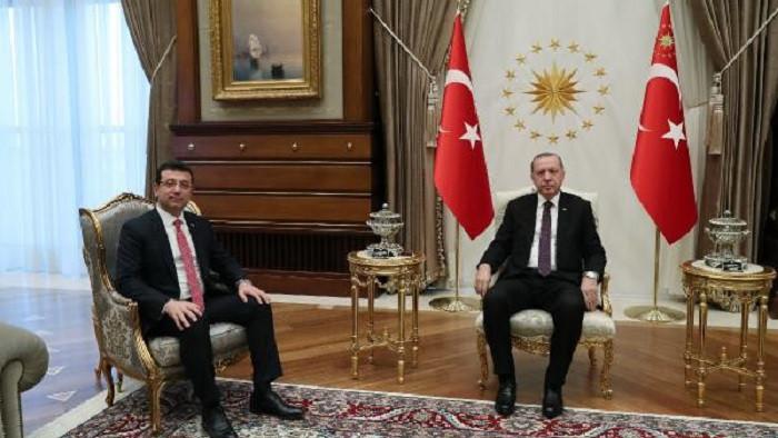 Ekrem İmamoğlu: Erdoğan'dan oy istedim, gülümsedi