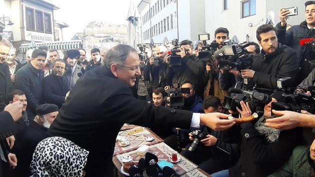 Mehmet Özhaseki seçim çalışmalarına başladı