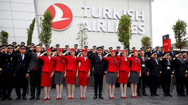 THY'den Barış Pınarı Harekatına asker selamı