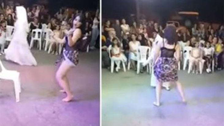 Sünnet çocuğunun önünde kalça dansı yapan kadına soruşturma