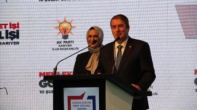 Salih Bayraktar Sarıyer için projelerini açıkladı