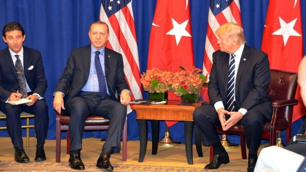 Erdoğan Trump ile telefonla görüştü