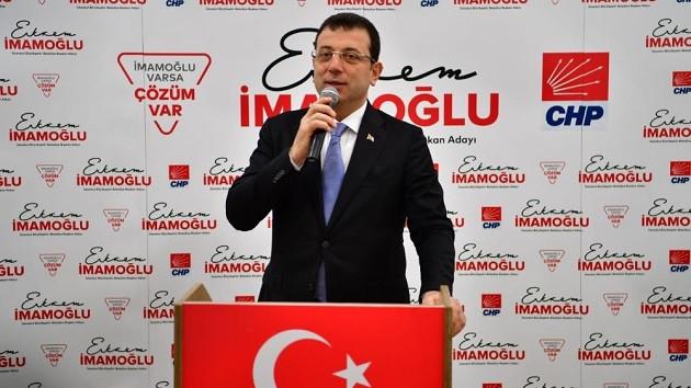İmamoğlu'ndan partililere birlik beraberlik çağrısı