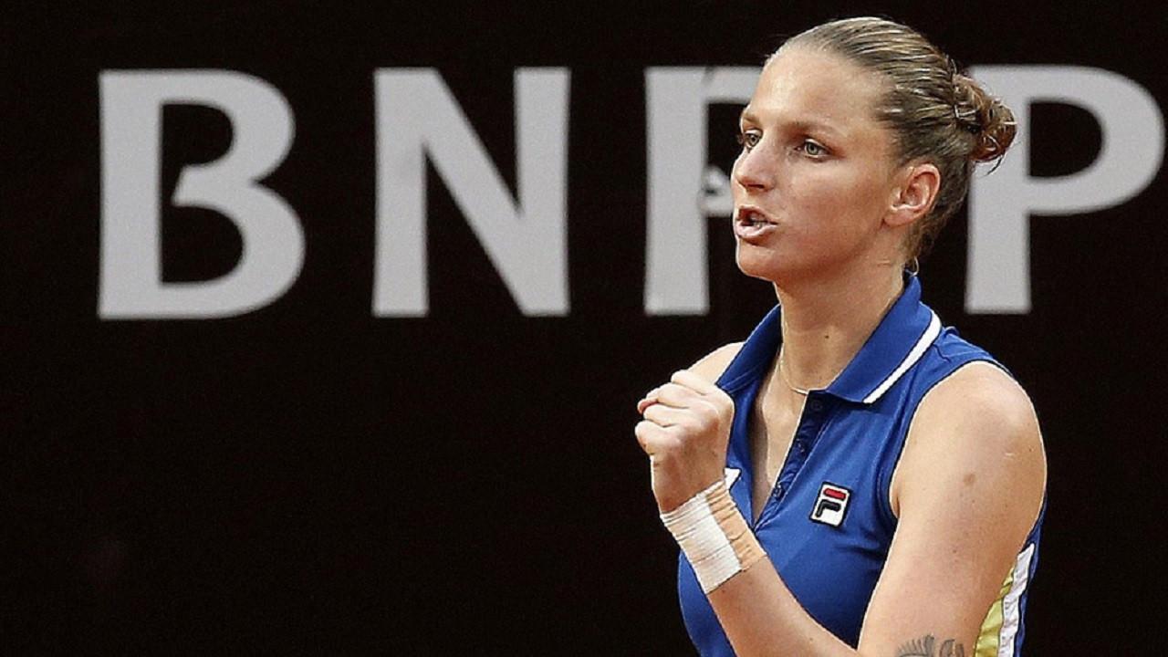 Roma Açık'ta şampiyon Karolina Pliskova