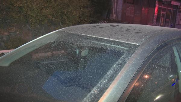 İstanbul'da gece yarısı gökten çamur yağdı!
