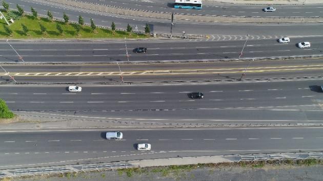 İstanbul'da yollar bayram etti! Trafik yoğunluğu yüzde 2'ye düştü
