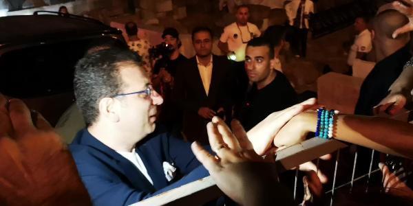 Ekrem İmamoğlu'na Bodrum'da yoğun ilgi
