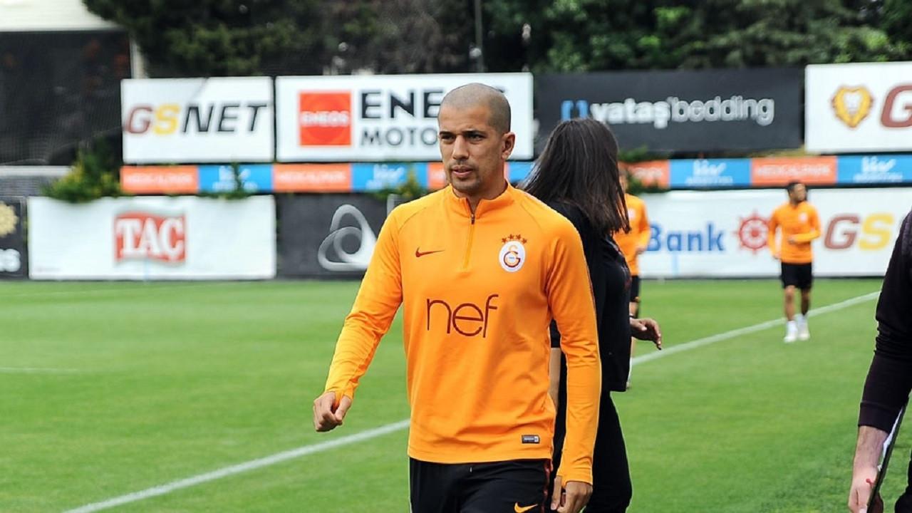 Galatasaray'ın Cezayirli oyuncusu Sofiane Feghouli ameliyat oldu